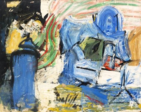 Pat Passlof, Untitled, 1959