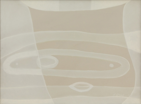 Thomas Sills, Untitled (white painting), 1975