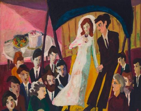Mimi Gross, The Jewish Wedding, 1963