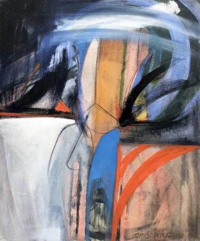 Miriam Schapiro, Tryst No. 2, 1960