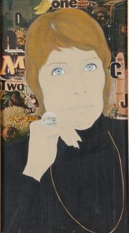 Marcia Marcus, Untitled (Portrait of Nancy R. Mayer), 1971