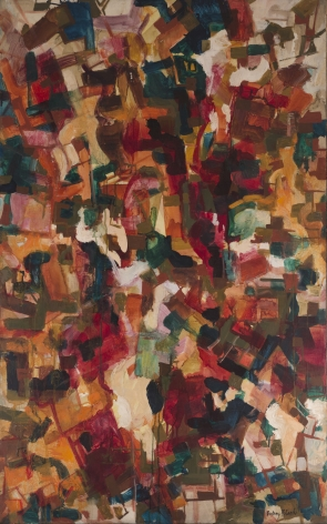 Audrey Flack, Unknown, 1950, oil on canvas