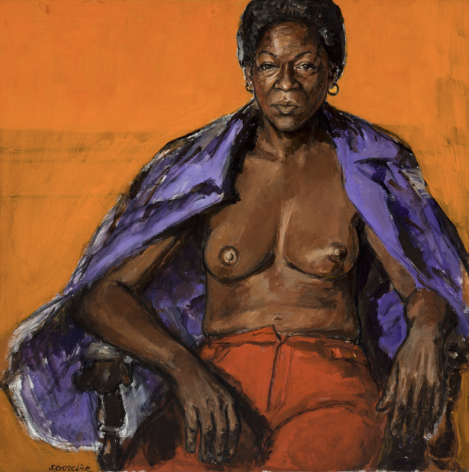 Shirley Gorelick, Untitled (Libby seated)