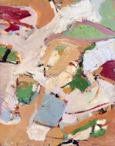 George McNeil (1908-1995), Trafalgar, 1955