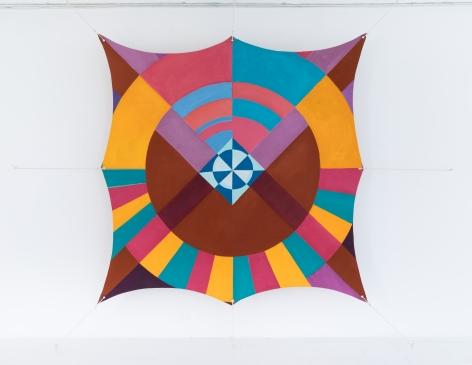 Joe Overstreet (1933-2019), HooDoo Mandala, 1970