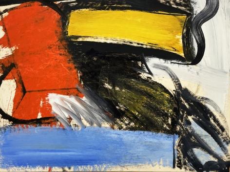 Pat Passlof, Untitled, 1956
