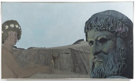 Marcia Marcus, Self-Portrait with Poseidon, 1973