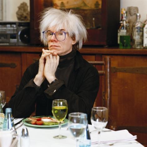 Tseng Kwong Chi, Warhol Dining Room,1987