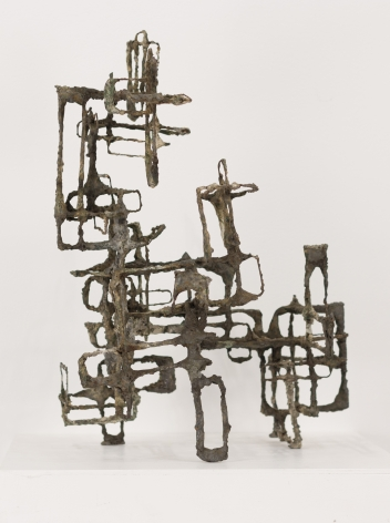 Ibram Lassaw, Cluster in Lyra, 1950, metal construction, 18h x 16w x 12d in