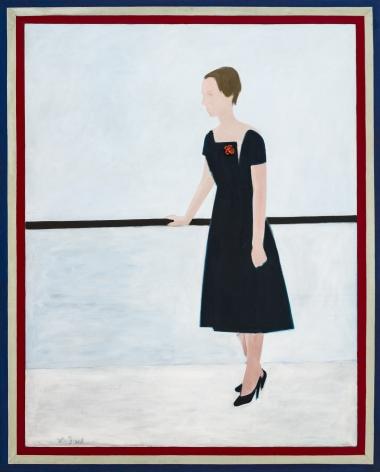 Charles DuBack (1926-2015), Black and White (Anne Waterhouse), 1960
