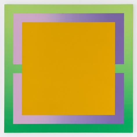Michael Boyd, Primero, 1973, 60″ x 60″, acrylic on canvas