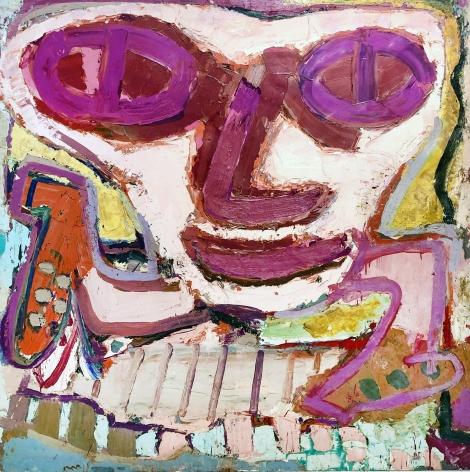 Jay Milder (1934-), Lime Subway Runner, 1962-63