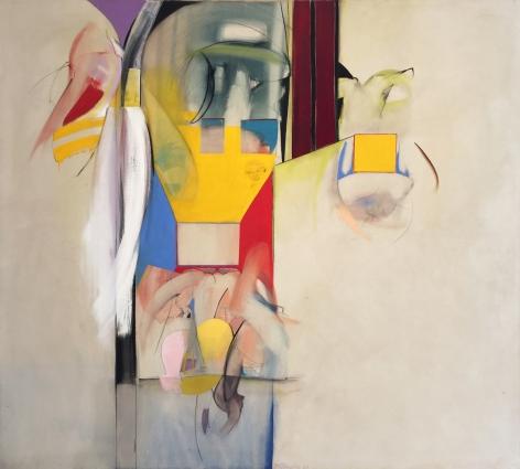 Miriam Schapiro, The Game, 1960