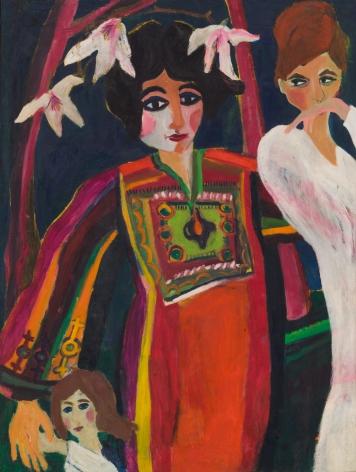 Mimi Gross, The Arab Dress, 1960
