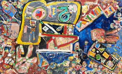 George McNeil (1908-1995), Zero Zero Two, 1987