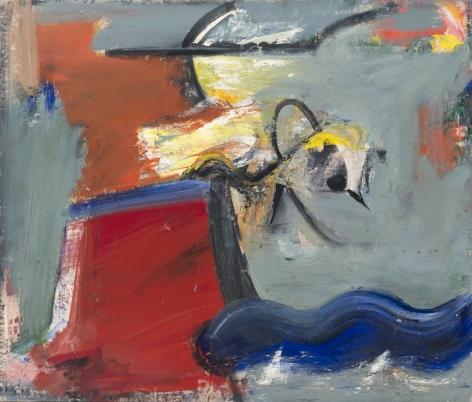 Pat Passlof, March Bird, 1956