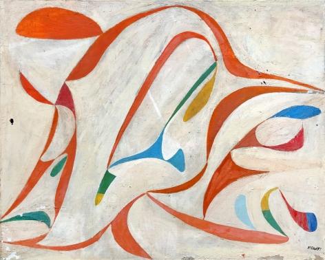 George McNeil (1908-1995), Taut Figures, 1947