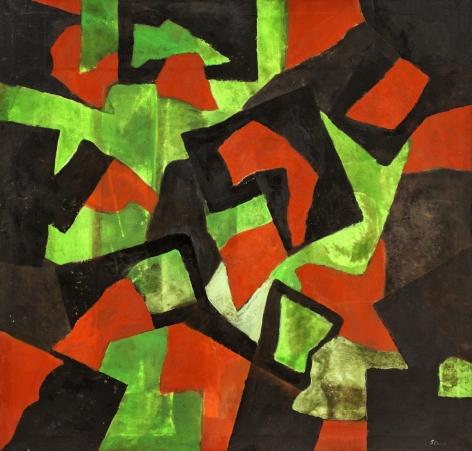 Thomas Sills, Mixed Earth, 1960