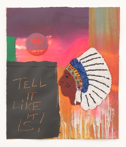 Jeffrey Gibson, Tell It Like It Is!, 2020
