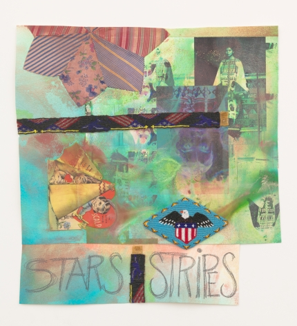 Jeffrey Gibson, Stars and Stripes, 2020