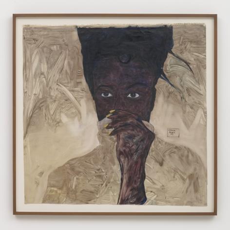 Amoako Boafo Tonica Hunter, 2017