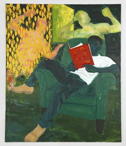 Dominic Chambers, Well, Well, Well (Chiffon in Green), 2020