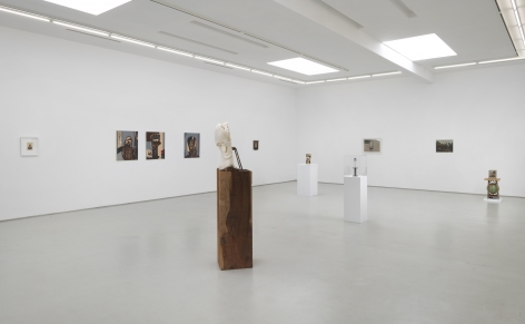 Behind Face Installation view
