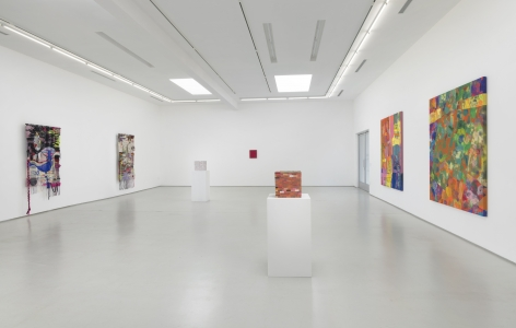 The Weight of Matter Installation view