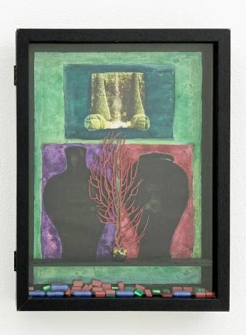 Betye Saar, Green Vision at the Villa, 1994