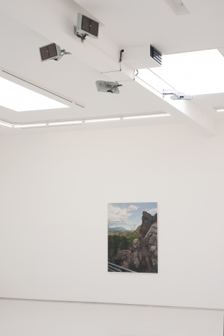 Jimmy Baker Sentinel Installation View