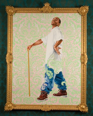 Kehinde Wiley Portrait of Andries Stilte II (Columbus), 2006