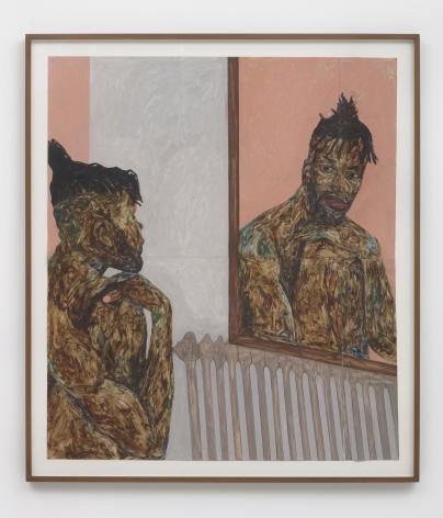 Amoako Boafo Reflection 1, 2018