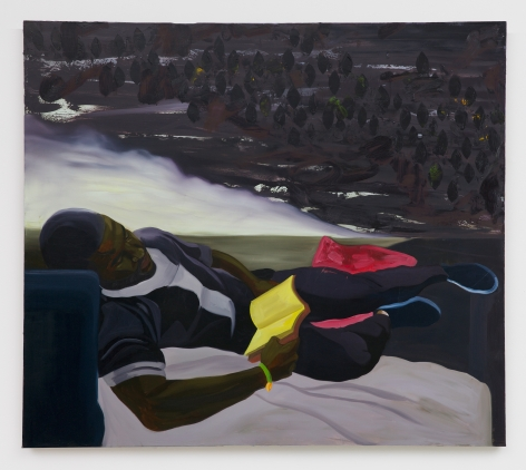 Dominic Chambers, Dark Skin of Summer Shade, 2019
