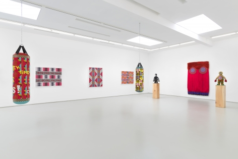 Jeffrey Gibson, It Can Be Said of Them, Installation View
