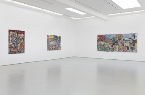 Daniel Crews-Chubb Installation View
