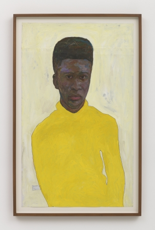 Amoako Boafo Yellow Turtleneck, 2018