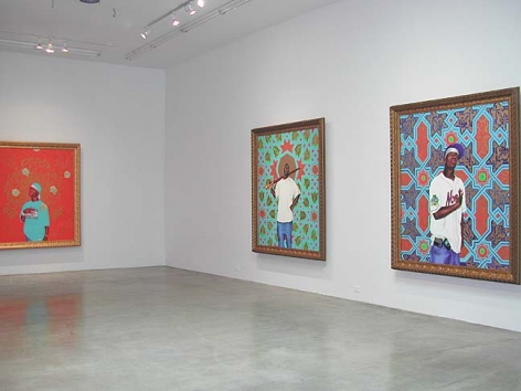 Kehinde Wiley Installation View