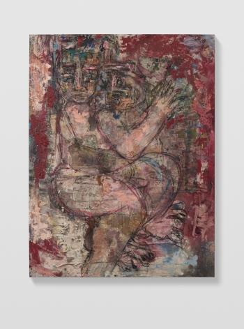 Daniel Crews-Chubb, Couples 1 (red), 2021