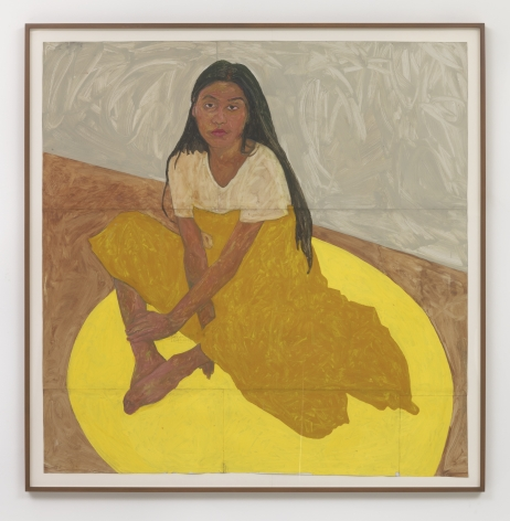 Amoako Boafo Yellow Dress, 2018