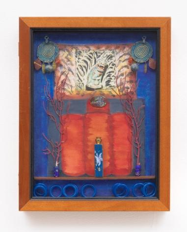 Betye Saar, Blue Vision at the Villa, 1994