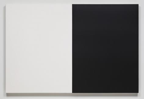 James Hayward Automatic Painting 47 x 70 Black/White, 1978 - 1979