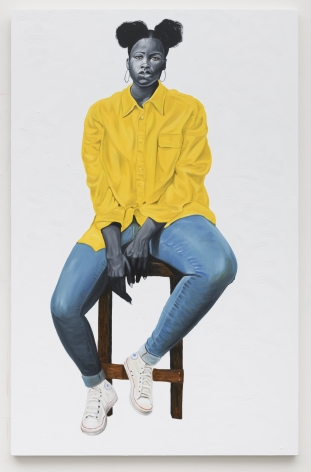 Portrait in Yellow, 2019