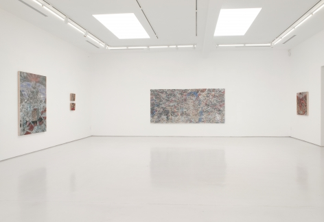Andrew Schoultz White Noise and Silence: New Paintings and Drawings