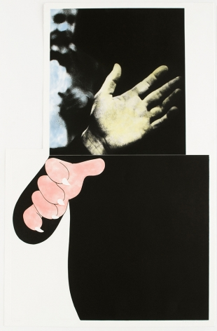 Two Hands (With Distant Figure), 1989-90