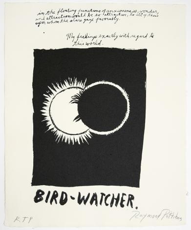 Untitled (Bird Watcher...), 2018