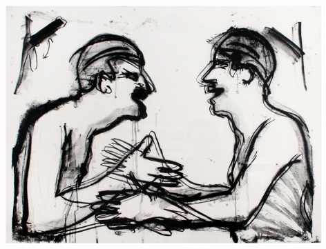 Fingers and Holes (Black and White), 1994