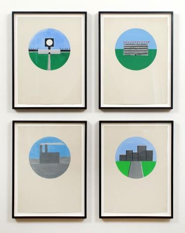 Untitled (Gouache Studies), ca. 1984