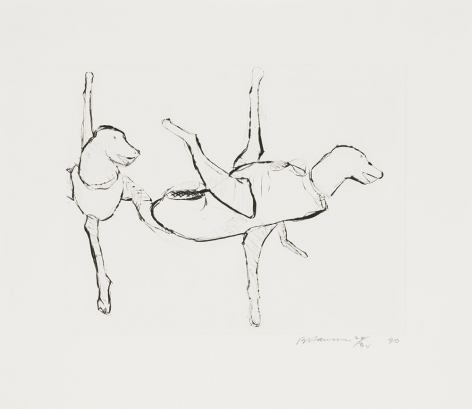 Untitled (C.66), 1989-90hard ground etching17 x 19 1/2 in. / 43.2 x 49.5 cmEdition of 45