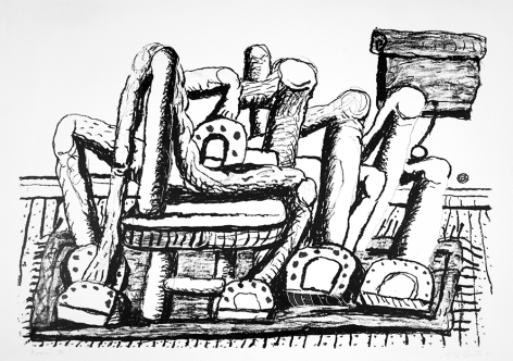 Room, 1980 lithograph