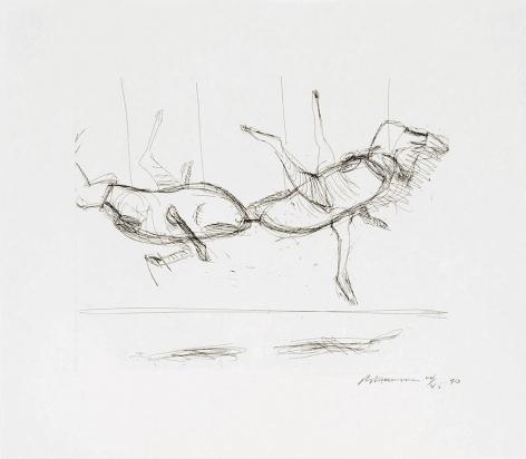 Untitled (C.65), 1989-90, hardground etching